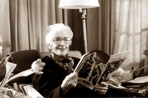 May Sarton by Susan Sherman